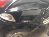 Hpi clear Vespa lx 125cc sport Scooter/moped/motorbike