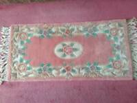 Pure wool rug