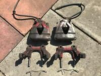 Mk4 VW golf 312mm front brake carrier and calipers