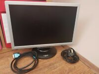 """19"""" PC Monitor with HDMI to DVi cable"""