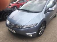 2009 Honda civic 1.8 es v-tec 5 door. (45000 MILES .)