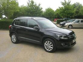 Volkswagen Tiguan Match TDi Bluemotion Tech 4motion Dsg (black) 2014