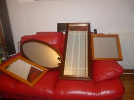 Mirrors ( different sizes ) £2 each