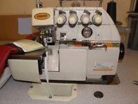 Overlocker Sewing Machine Industrial Excellent Condition