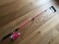 Childs Fishing rod and reel (5 foot)