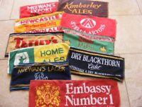 Vintage Pub Bar Towels.