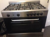 Baumatic��BC190.2TCSS Gas Range Cooker in Stainless Steel