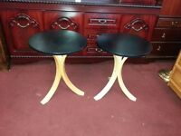 Ikea 'Fornbro' Side Tables (PAIR)