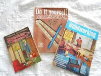 Vintage Magazines ... Practical Woodworking 1969, Practical Television 1956, D.I.Y Annual 1966