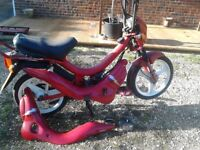 Puch Manet two stroke moped, very rare little thing, needs reassembly