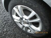 FOR SALE Set of 4 Vauxhall Alloys with Good Tyres from Corsa D 195/55 16.