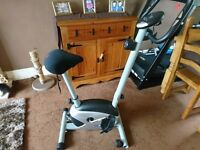 Pro Fitness Exercise Bike plus Gel Seat