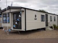 2 bed cheap double glazed central heated static caravan for sale in clacton on sea