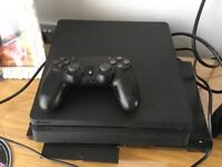 PlayStation 4 500gb slim fully working with DualShock 4 controller