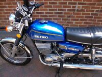 Suzuki GT250 Ram Air motorcycle Project