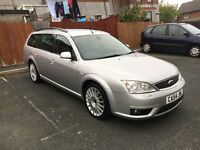 2005 Ford Mondeo ST 2.2 Diesel Manual Estate in Silver-12 Months MOT-Drives Really Well