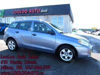 2006 Toyota Matrix Automatic Certified 2 Year Warranty