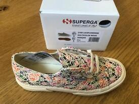 Brand new Superga shoes size 3