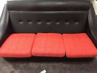 Retro Sofa and Chair For Sale