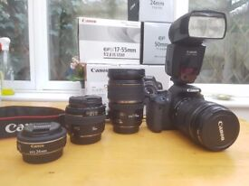 Canon EOS 650D - Digital Camera SLR with EF-S 18-135mm f/3.5 - 5.6 IS STM Lens
