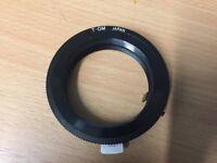 Olympus M42 lens adapter