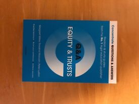 Law Book for Sale! Concentrate Equity & Trusts Q&A