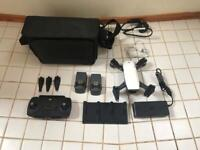 DJI Spark drone with Fly More kit white AS NEW