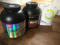 Protein - Whey / Whey Isolate / Casein