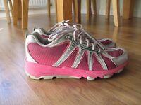 Heelys, UK size 3, pink