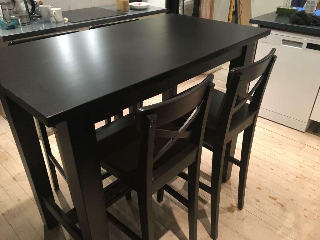 Ikea Stornas Bar Table And Chairs