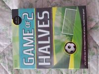 Game of 2 Halves Board Game - BRAND NEW IN BOX