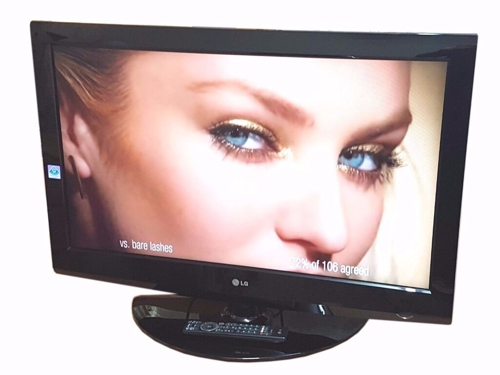 """LG 37"""" LCD TV BUILT IN FREEVIEW, MONITORin Stoke on Trent, StaffordshireGumtree - LG 37"""" LCD TV LG 37"""" TV Built in Free view Built in Swivel Stand Wall Mountable HDMI, SCART, AND PC CONNECTIONS TV Is Tested & In Perfect Working Order"""