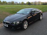 2005 BMW 630i E63 M-Sport *DVD*TV Tuner*Business Sat Nav*Long MOT*2 prev owners
