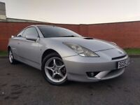 TOYOTA CELICA COUPE PETROL CAR MOT UNTIL 2017 STARTS AND DRIVES CLEAN CAR INSIDE AND OUT
