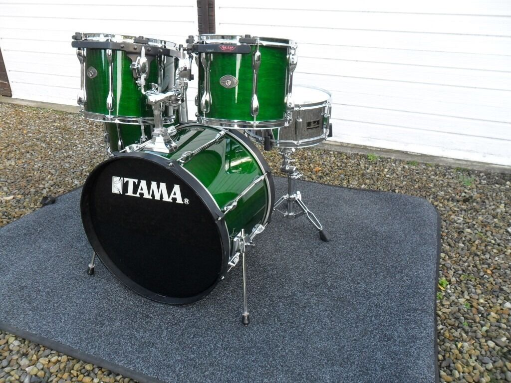 Tama Rockstar Custom 4 Drum Kit Pearl Snare