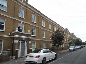 2 DOUBLE BED 1st FLOOR UNFURNISHED MANSION FLAT ON ST OLAF'S ROAD, OFF MUNSTER ROAD, FULHAM, SW6