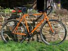 Genesis Day One gravel or bike packing bike. Disc brakes, Large 58cm