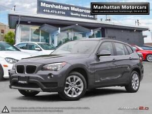 2014 BMW X1 28i X-DRIVE  BLUETOOTH PANORAMIC NO ACCIDENT 1OWNER