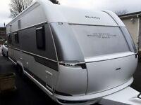 Hobby Caravan 660 Vip Collection (2016/17 Model) As New Inside/Out. Like Tabbert/Fendt
