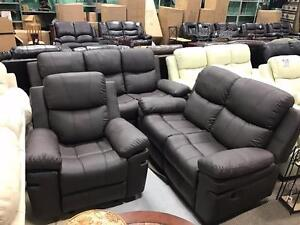 3 PIECES RECLINER SET BLOWOUT ONLY $1399 REG $2499 MUST GO