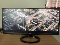 "LG 29MA73V-PZ 29"" Ultrawide IPS TV Monitor 2560x1080 *NO STAND*"