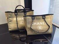 Chanel canvas bag
