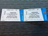 Biffy Clyro @ Bellahouston 27th Aug - 2 tickets