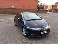 Honda Civic 1.4 i DSI S Hatchback 5dr Black Excellent Car Very Economical