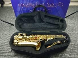 Saxophone Alto Trevor James alpha for children with box