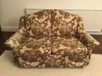 Compact Sofa and 2 Matching Armchairs