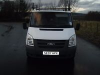NEW SHAPE FORD TRANSIT VAN 2007 RELIABLE SMOOTH RUNNER 2 OWNERS