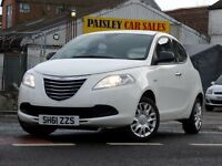 2011 REG CHRYSLER YPSILON S 1.2cc 5 DOOR.....