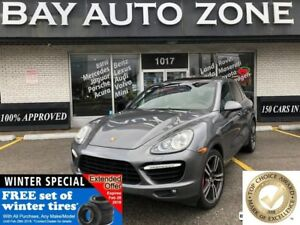 2011 Porsche Cayenne Turbo+ PANO ROOF+ NAVI+PORSCHE EASY ENTERY