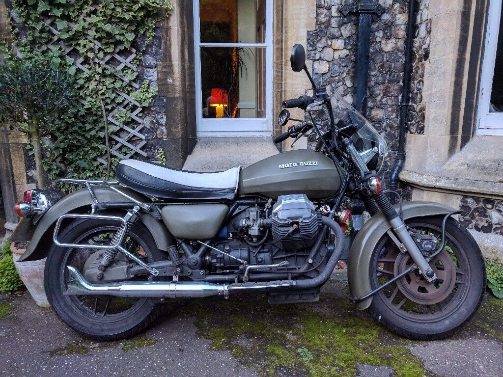 moto guzzi california mk 2 1982 in norwich norfolk. Black Bedroom Furniture Sets. Home Design Ideas